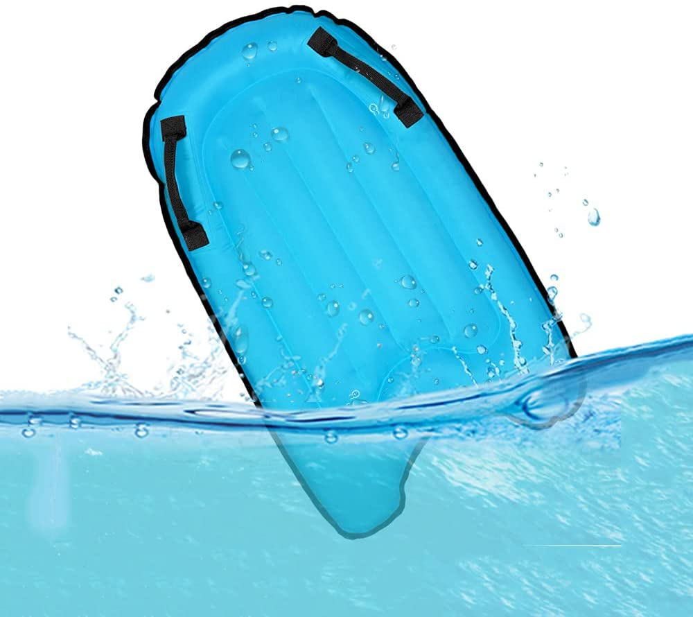 OMOUBOI shipfree Inflatable Board for Beach Bodyboard Portable Handl with Max 64% OFF