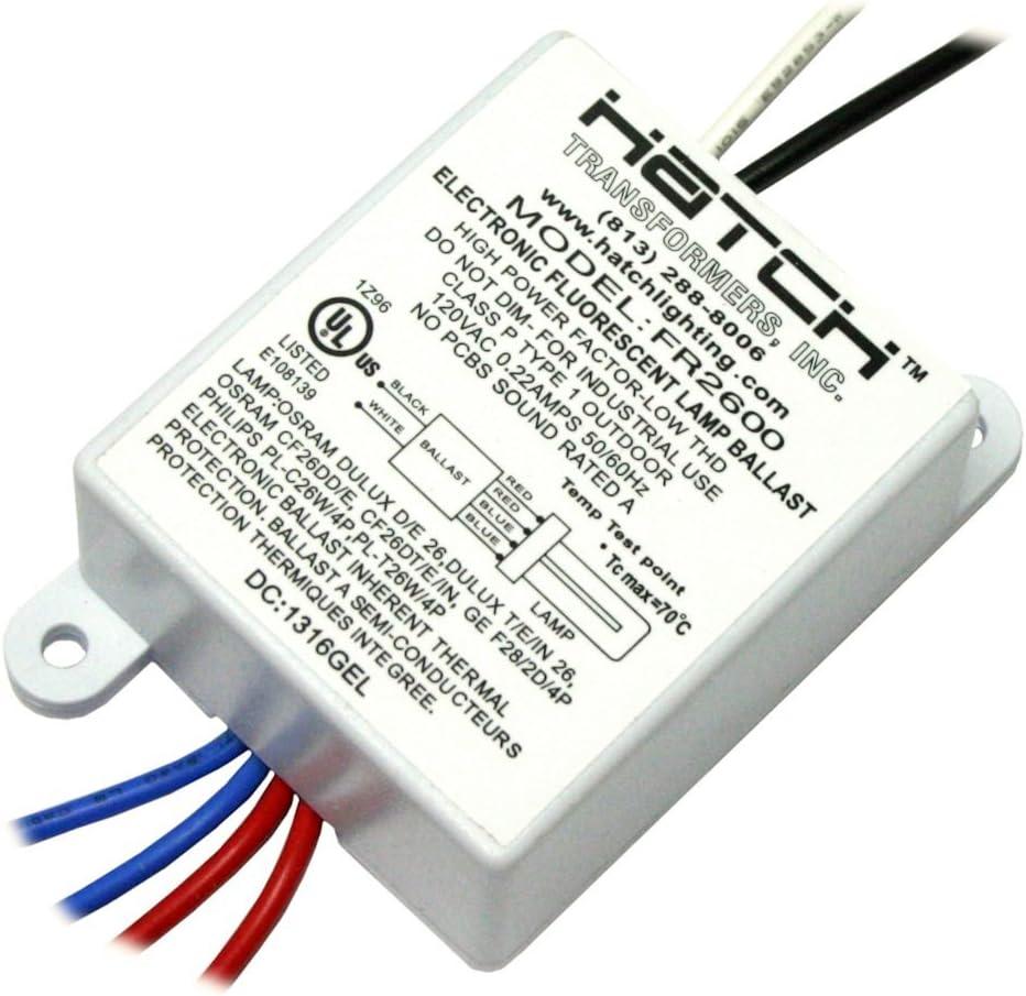 Hatch 02650 - FR-2600-L Fluorescent Compact Ballast Sales for Factory outlet sale
