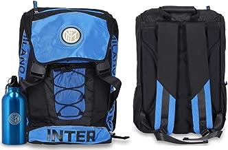 Astuccio 3 zip completo di cancelleria INTER con Borraccia scuola 2019-20 Schoolpack Zaino Estensibile F.C