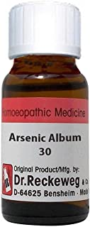Dr. Reckeweg Germany Arsenic Album Dilution 30 CH
