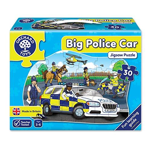 Orchard Toys - Orch255 - Puzzle Classique - La Grande Voiture De Police