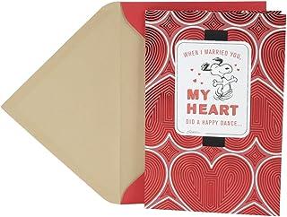 Hallmark Peanuts Valentine's Day Card for Husband (Snoopy Happy Dance)