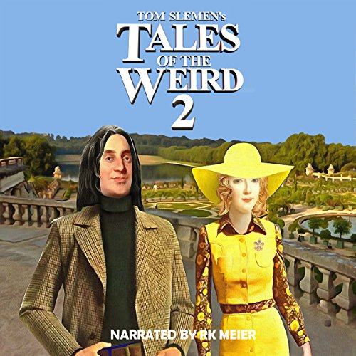 Tales of the Weird 2 audiobook cover art