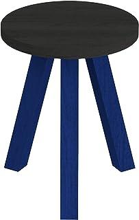 パモウナ スツール 幅35×高さ35×奥行45 日本製 CNANST40TMGLFB
