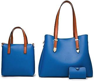 Handbags for Women Fashion Tote Bags Top Handle Satchel Purse Shoulder Bags Tote Satchel Hobo 3pcs Set