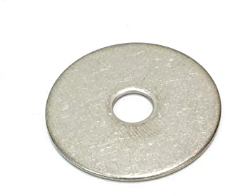 Plain Finish Nominal Thickness 1//4ID x 1//2OD, Pack of 110 Beduan Stainless Steel Flat Washer