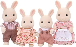Calico Critters Sweetpea Rabbit Family, Dolls, Dollhouse Figures, Collectible Toys