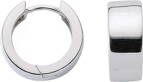 1 Paar Silber Ohrringe Creolen 925 Sterling Silber  .6cm