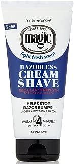 Magic Razorless Cream Shave Regular Strength 6 Ounce (177ml) (6 Pack)