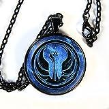 Star Wars inspired Ancient JEDI symbol pendant necklace - HM