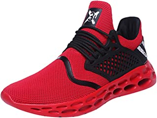 Men's Lightweight Non-slip Breathable Lace-up Comfortable And Durable Popular Sport Mountain Road Cement Floor Athletic Walking Jogging Running Parkour Mountaineering Training Shoes Sneakers