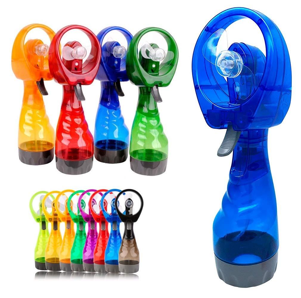 Ventilador de Mano con Spray Pulverizador de Agua 2 en 1 Enfriador ...