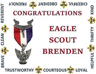 Eagle scout edible cake image, Boy Scouts cake topper,Eagle Scouts 1/4 sheet