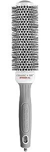 Olivia Garden Ceramic + Ion Speed XL Extra-Long Barrel Hair Brush (not electrical)