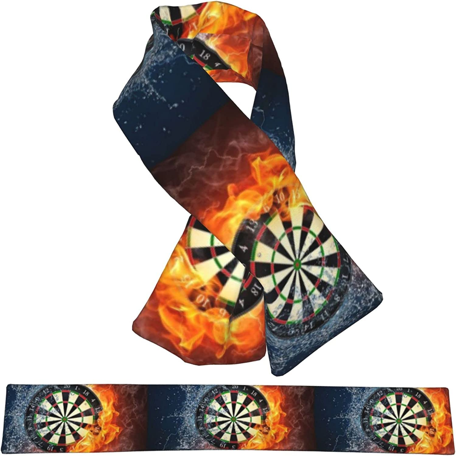 Fire Outstanding Ice Darts Plush Scarf favorite Double-Sided Warm Child