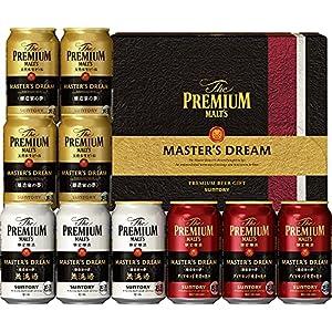 【遅れてごめんね/父の日 ビールギフト】 ザ・プレミアム・モルツ マスターズドリーム 醸造家の夢 無濾過・ダイヤモンド麦芽の恵み入 3種アソートセット TMA3S