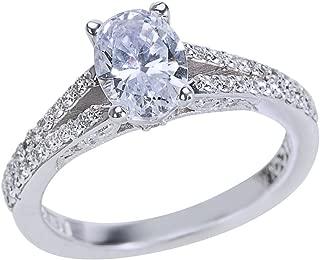 Tacori Diamond Engagement Ring Setting in 18k White Gold Style 3001(0.34 ct)