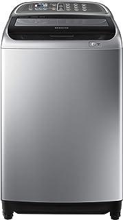 Samsung 10 Kg Top Load Washing Machine With Active Dual Wash And Digital Inverter Motor, Silver - WA10J5730SS-GU, 1 Year W...