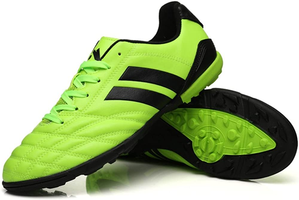 YING LAN Mens Boys Turf Cleats Soccer Athletic Football Outdoor//Indoor Sports Running Walking Shoes TF