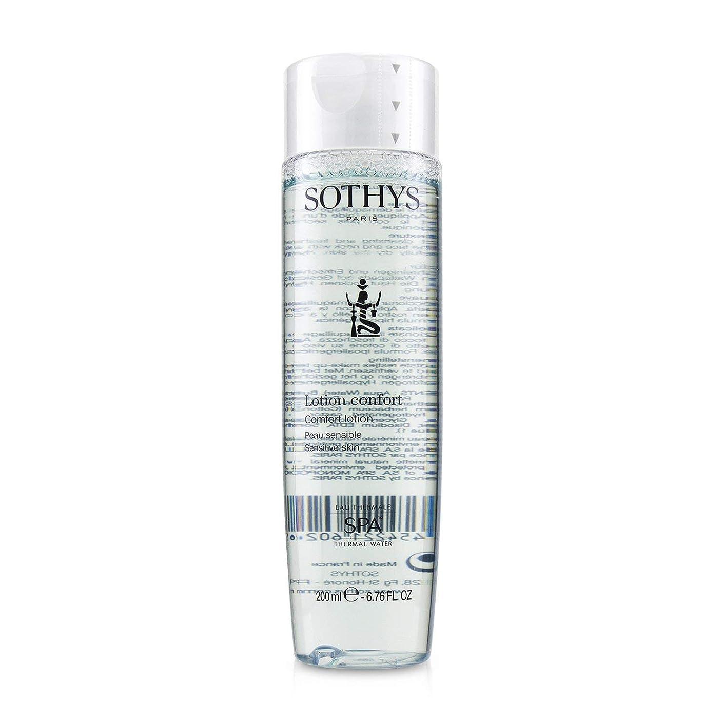 分再生的ベーシックSothys Comfort Lotion - For Sensitive Skin 200ml/6.76oz並行輸入品