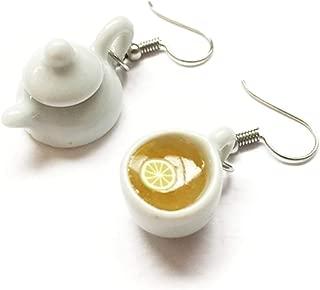 SAE99 Tea Dangle Earrings