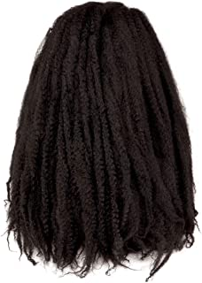 Toyo Tress Marley Hair For Twists 24 Inch 6packs Long Afro Marley Braid Hair Synthetic Fiber Marley Braiding Hair Extensions (24
