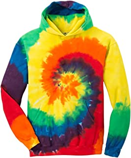 Joe`s USA Koloa Youth Colorful Tie-Dye Hoodies - Youth Sizes XS-XL