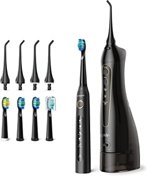 Wepklin Ultimate Care Electric Water Flosser and Toothbrush Combo
