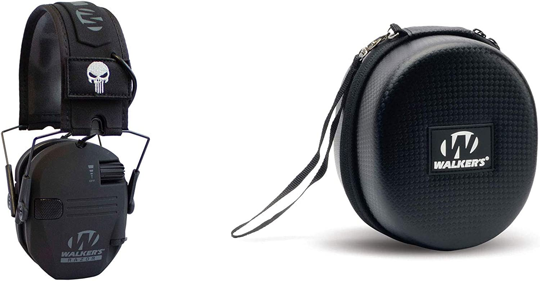 Walker's Award-winning store Razor Black Sales Punisher Folding Electronic Hunting Hearing