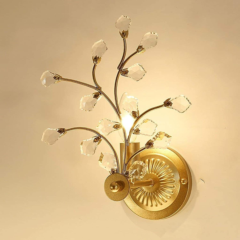 CN Wandleuchte Modern Minimalist Plum Crystal Wandleuchte Nachttischlampe Schlafzimmer Kreative Dekorative Hngeleuchten