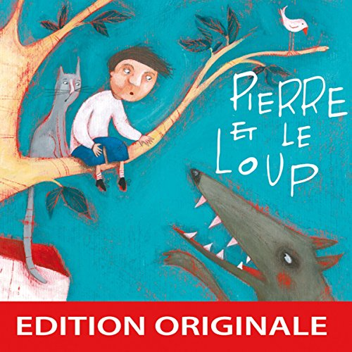 Pierre et le loup audiobook cover art