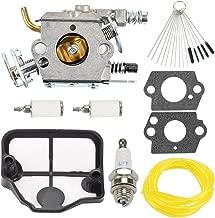 Hayskill Carburetor with Repower Kit for Husqvarna 36 41 136 137 141 142 Poulan 2200 2500 2600 2775 2900 3050 PP255 PP295 PP4620AVL PP4620AVX PP4620AVHD PP4620AV Gas Chainsaw