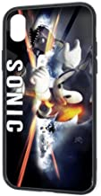 Cool Design iPhone XR Case, Sonic Generations Game Poster Anti-Scratch Snowproof Slim Fit Drop Protection Tempered Glass Cover Case for iPhone XR 6.1 Inch