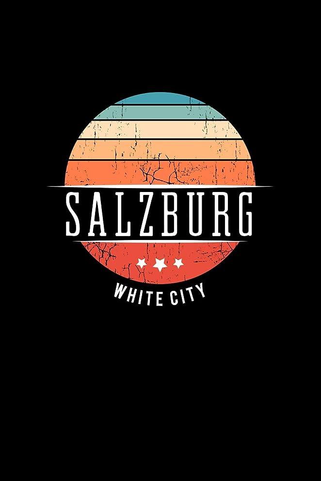 きらめき放射能略すSalzburg White City: Vintage City Trip Souvenir Blank Journal Notebook