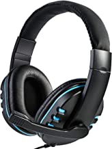 Haokaini Gaming Headset Stereo Surround Headphone, Noise Cancelling Over Ear Headphones with Mic, Bass Surround, Soft Memo...