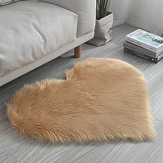Tappeto Cotone Moderno Morbido Shaggy Bagno Scendiletto Camera Salotto Varie Misure MOD.PAFFY 50X80 Arancione