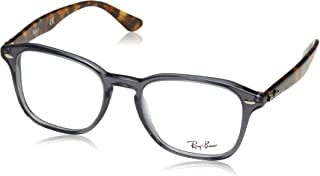 56986b8227 Ray-Ban 0Rx5352 Monturas de gafas, Opal Grey, 50 Unisex-Adulto