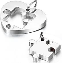 Best heart puzzle piece necklace Reviews