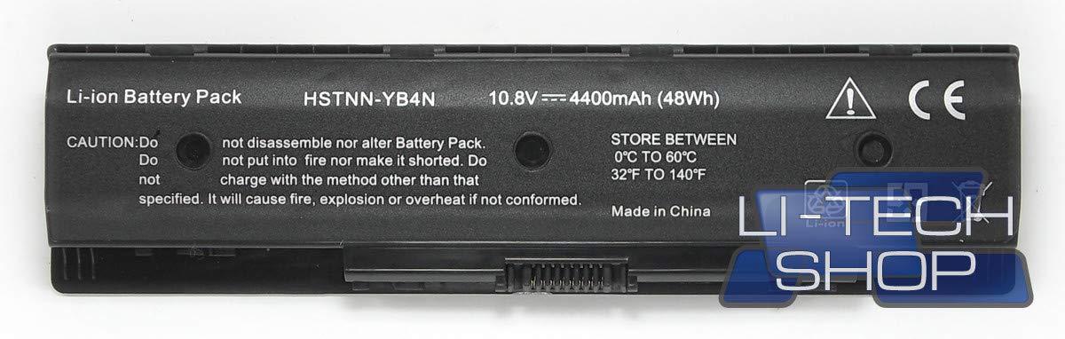 LI-TECH Batería Compatible para código HP 709989-83I de Recambio Notebook Ordenador batería: Amazon.es: Electrónica