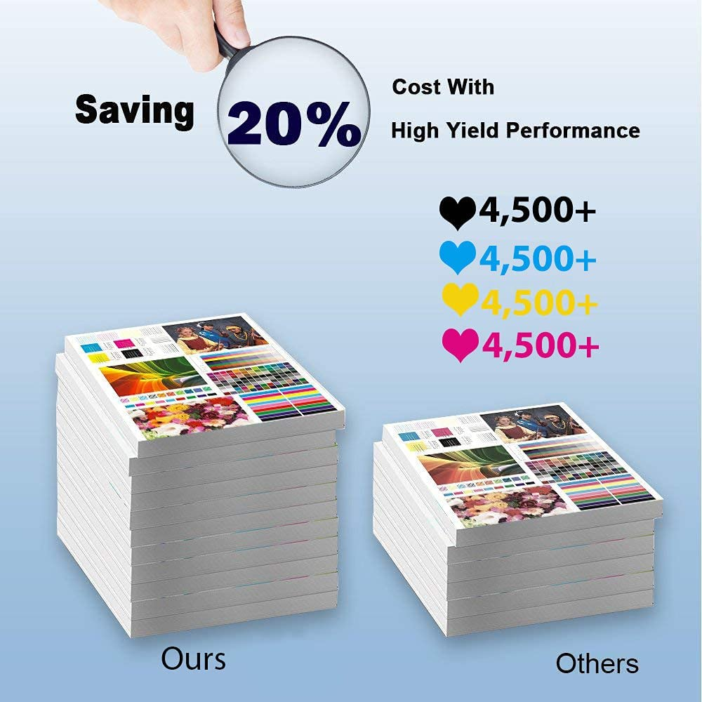 2-Pack (Cyan) Compatible High Yield 1710587-007 Laser Printer Toner Cartridge Used for Konica Minolta 2550DN 2550EN 2590 2590MF Printer