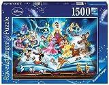 Ravensburger Puzzle 16318 - Disney´s magisches Märchenbuch - 1500 Teile Puzzle für Erwachsene und Kinder ab 14 Jahren, Disney Puzzle -