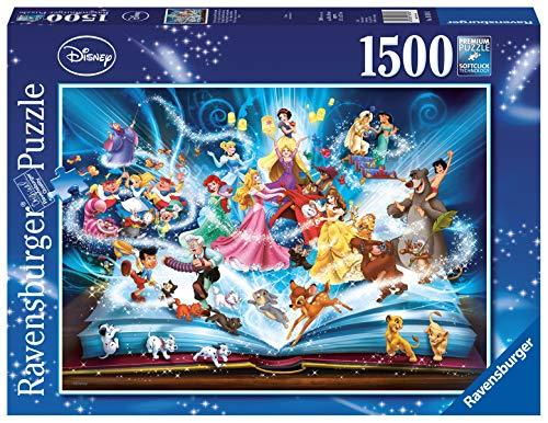 Ravensburger Puzzle 16318 - Disney´s magisches Märchenbuch - 1500 Teile Puzzle für Erwachsene und Kinder ab 14 Jahren, Disney Puzzle