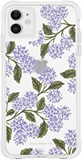 Rifle Paper CO. - iPhone 11 Case - Clear Hydrangea Blue
