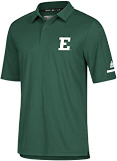 adidas Eastern Michigan University Men's Polo Coaches Short Sleeve