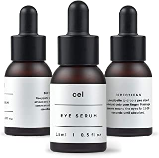 Cel MD Eye Serum | Instant Under Eye Bag Treatment - Remove Puffiness and Dark Circles | Korean Stem Cell Technology