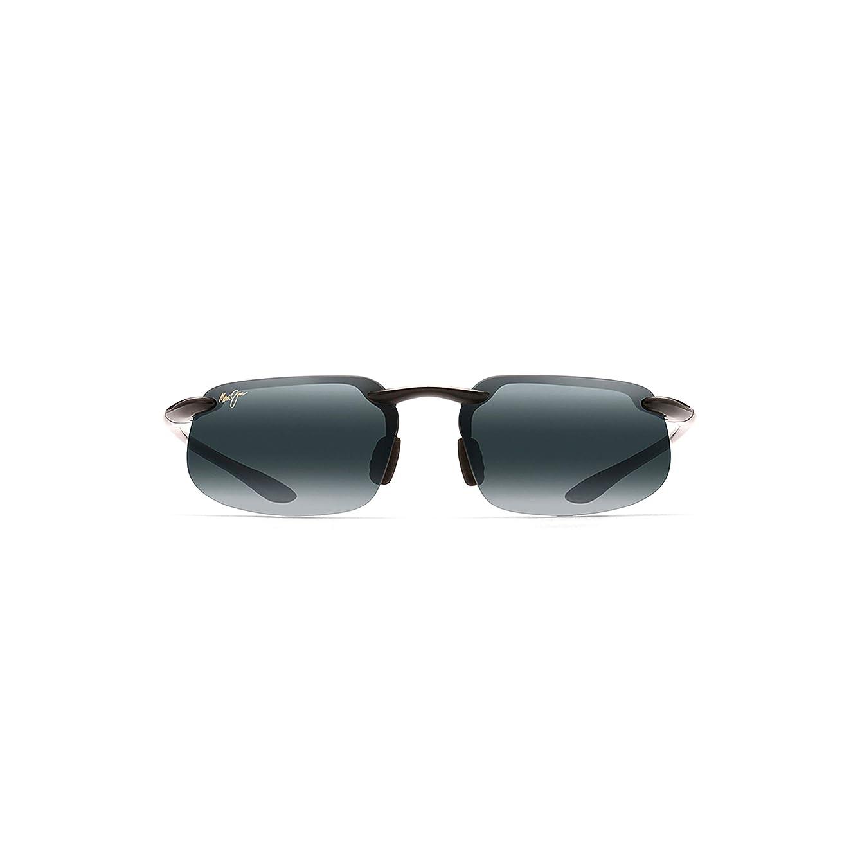 Maui Jim Sunglasses | Kanaha (Universal Fit) 409 | Rimless Frame, Polarized Lenses, with Patented PolarizedPlus2 Lens Tech