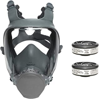 Moldex 9000 Series Reuasble Full Face Respirator/Mask with 7002 Acid Gas Cartridge (1 Each) (Large)