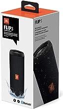 JBL Flip 3 Stealth Edition Waterproof Portable Bluetooth Speaker with Rich Deep Bass Black (Renewed)