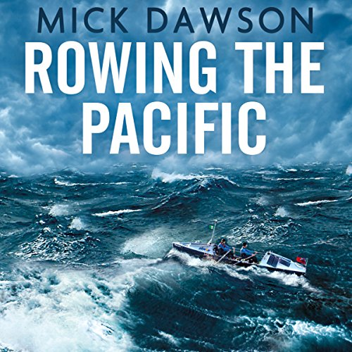 Rowing the Pacific audiobook cover art