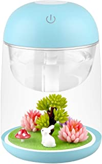 Ohderii Micro Landscape Humidifier Essential Oil Diffuser 180ml Aroma Essential Oil Cool Mist Humidifier with Adjustable M...